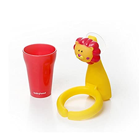 Animal Cartoon Children Toothbrush Holder Suit Giraffe Creative Candy Color Wall Suction Hanging Mouthwash Cup Food-Grade Material