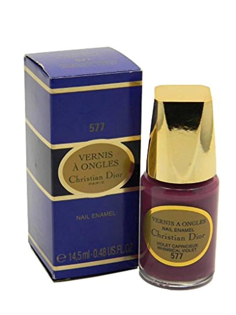 称賛撤退異常なDior Vernis A Ongles Nail Enamel Polish 577 Whimsical Violet(ディオール ヴェルニ ア オングル ネイルエナメル ポリッシュ 577 ウィムジカル バイオレット) [並行輸入品]