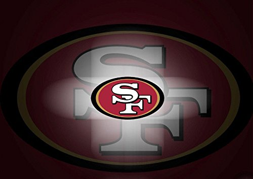 SDore San Francisco 49er SF 49ers Edible Birthday 1/2 Sheet Frosting Cake Topper Image Icing
