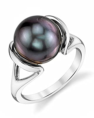 14K Gold Tahitian South Sea Cultured Pearl Hanna Ring from The Pearl Source