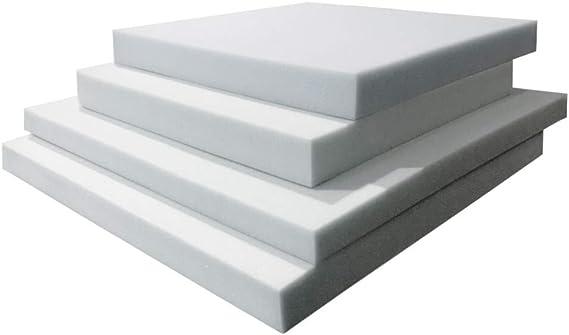 TOPDORMITORIOS - Plancha DE Espuma Standar-Espuma A Medida - 100 cm x 200 cm x 1 cm: Amazon.es: Hogar