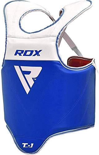 RDX Boxing Chest Guard MMA Body Protector Martial Arts Taekwondo Rib Shield Armour Training