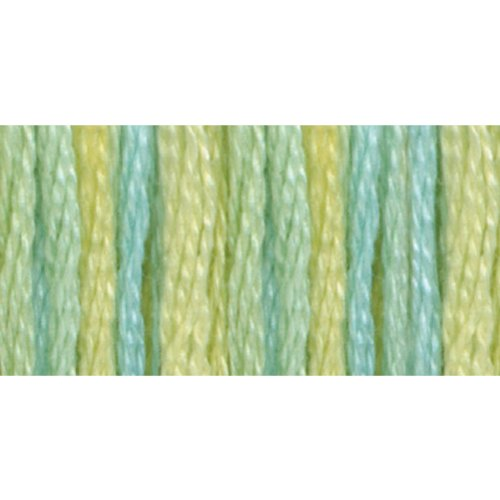 - DMC 417F-4060 Color Variations Six Strand Embroidery Floss, 8.7-Yard, Weeping Willow