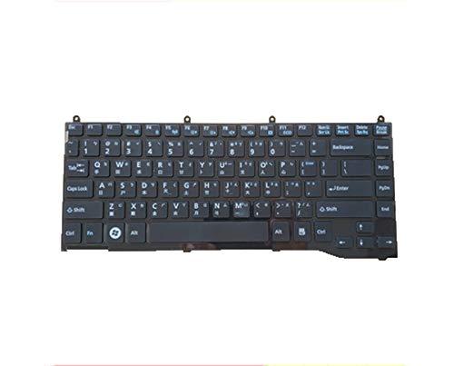 Laptop Keyboard for Fujitsu Lifebook LH522 LH532 LH532A LH532B LH532C Thailand TI Black New Version ()
