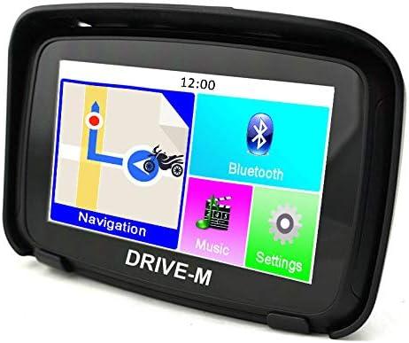 Navegador GPS de 5 pulgadas Navi Drive-M para moto y coche. Impermeable. Alarma de radares, actualización gratuita de mapa. Bluetooth, también se puede utilizar para acampadas y camiones.: Amazon.es: Electrónica