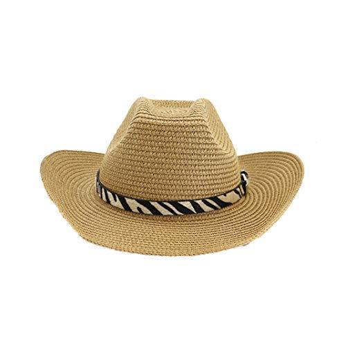 Wool Felt Wide Brim Western Cowboy Hat Classic Vintage Outback Fedora Hat Sunhat Khaki
