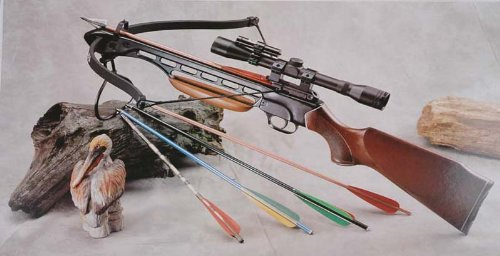 150 Lb Crossbow Arrows (150 Lbs Wood Crossbow with Scope and Pack of Metal Arrows)