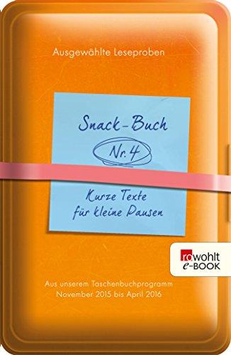 Snack-Buch (German Edition)