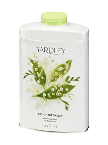 - Yardley London Lily of the Valley Perfumed Talc 200g
