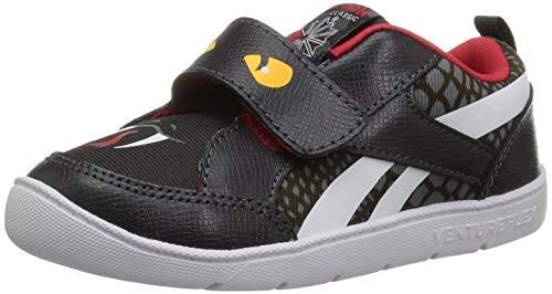 (Reebok Baby Ventureflex Chase Ii Sneaker, Snake-Coal/Alloy/Primal r, 3 M US Toddler)