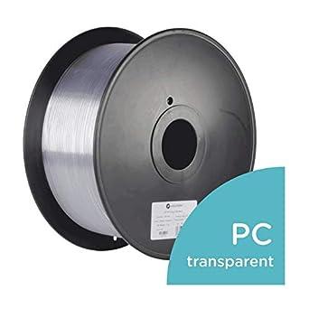 polymaker pc-plus filamento transparente Impresora 3d filamento ...