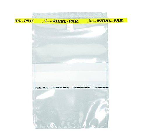 - Nasco Whirl-Pak B01297WA Write-On Bag, 23cm L x 15cm W, 0.076mm Thickness, 710ml Capacity (Box of 500)
