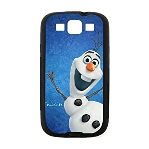 Custom Frozen Disney 3D Movie Olaf Cute Snowman Hard For SamSung Note 3 Phone Case Cover over