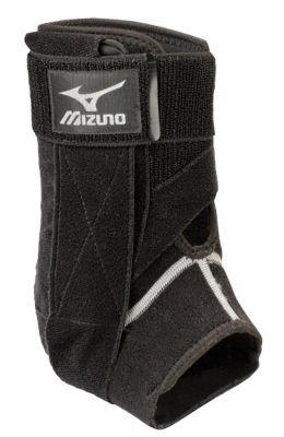 Mizuno DXS2 Right Ankle Brace, Black, Medium