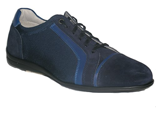Grandi Scarpe , Herren Sneaker Blu