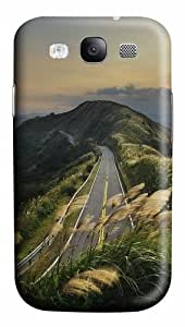 Mountain Top Road World PC Custom Design Case Cover for Samsung Galaxy S3 / SIII / I9300