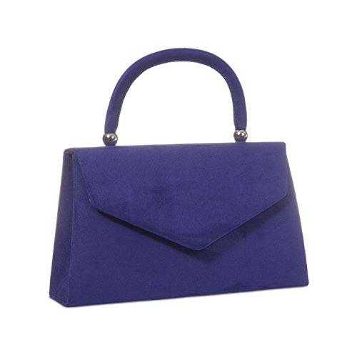 Xardi London nuovo palmare borse da donna in pelle scamosciata sintetica donne sera frizione borse Purple