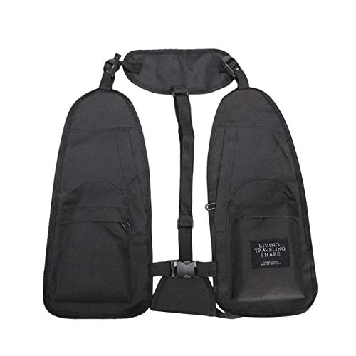 f24d7e3bf5cab S-Sport-Life - Fishing Vest Nylon Chest Rig Bag Functional ...