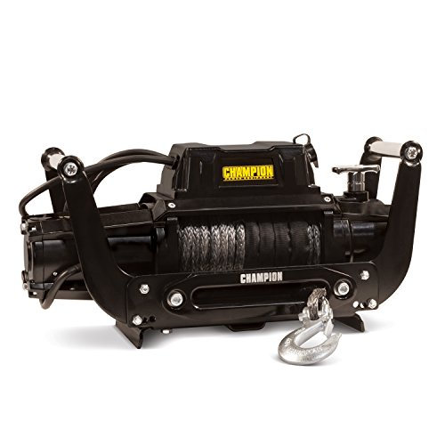 Champion 12,000-lb. Truck/SUV Synthetic Rope Winch Kit with Speed Mount