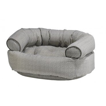 (Bowsers Diamond Series Microvelvet Double Donut Dog Bed)