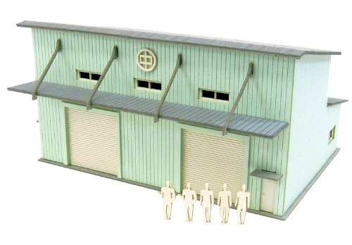 -2 MP01-139 (Paper Craft) Petit warehouse and 1/220 Minichua (japan import) sankei