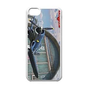Planes 2 4 funda iPhone 5c caja funda del teléfono celular del teléfono celular blanco cubierta de la caja funda EEECBCAAL12838