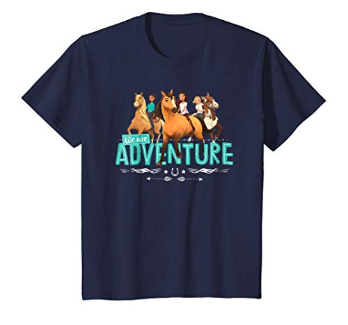 - Kids DreamWorks Spirit Riding Free - Adventure Kids T-Shirt