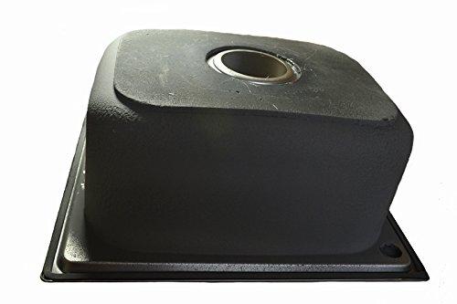 1x /évier inox bross/é de cuisine /à un 1 bac en acier inoxydable 304 carr/é lavabo de cuisine petit 46x41x20