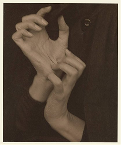 Historic Photograph | Alfred Stieglitz | Georgia O'Keeffe — Hands | Vintage Wall Art Décor Poster Reproduction | 11in x 14in ()