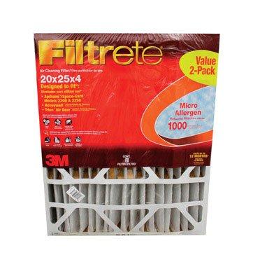 FILTRETE1000 20X25X4 2PK by FILTRETE MfrPartNo ADP03-2PK-2