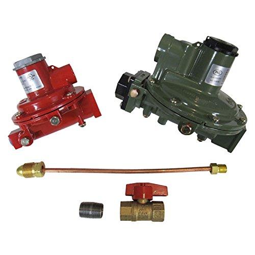 Marshall Regulator Home Propane Supply Kit LP 1122H-AAJ 1622-BCF 1/2