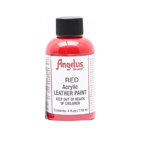 Angelus Acrylic Leather Paint-4oz.-Red