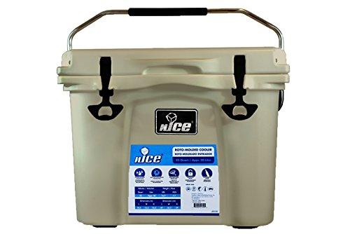 nICE Cooler, Beige, 22 Quart