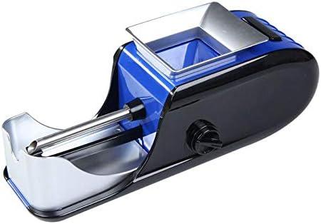 電動タバコラミネート機喫煙タバコパイプ自動インジェクターメーカーローラーDIY喫煙ツール使いやすい、2個、青、ヨーロッパプラグ