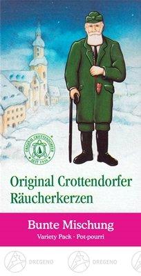 NEU Erzgebirge R/äucherkegel 24 Zubeh/ör Crottendorfer R/äucherkerzen Bunte Mischung