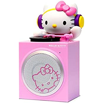 ihome hello kitty wireless bluetooth speaker with line in option home audio theater. Black Bedroom Furniture Sets. Home Design Ideas
