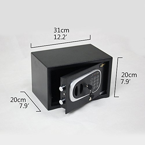 1 Shield Electronic Digital Lock Keypad Small Safe Box For