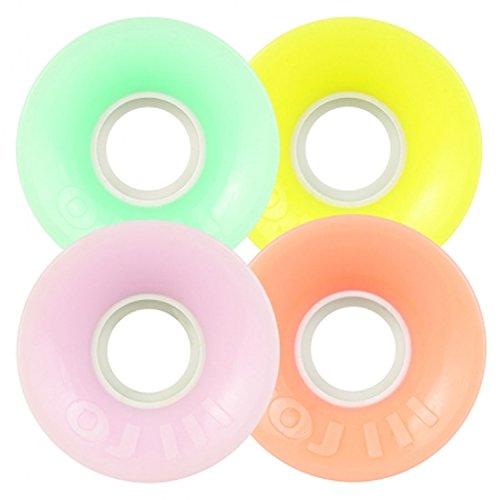 Hot Juice (OJ III Skateboard Cruiser Wheels Mini Hot Juice Pastel 55mm 78A)