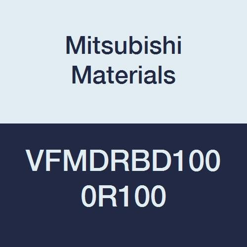 25 mm LOC 10 mm Cut Dia Medium Flute for Difficult-to-Cut Material 1 mm Corner Radius Mitsubishi Materials VFMDRBD1000R100 VFMDRB Series Carbide Impact Miracle Corner Radius End Mill 6 Flutes