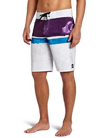 Quiksilver Men's Cypher Kelly Nomad Boardshort, White, 28
