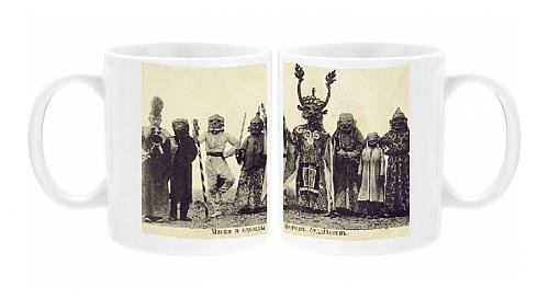 Photo Mug of Eastern Russia - Transbaikalia - Tsam ceremony (Dance Costumes Russia)