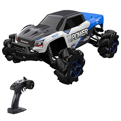 GoolRC 1/12 RC Car 4 Motors 4WD Stunt Drift Climbing Car High Speed Mecanum Wheel RC Off-Road Car Birthday Gift for Kid Boy