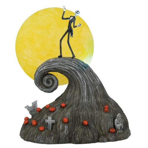 Department56 Department 56 The Nightmare Before Christmas Village Jack On Spiral Hill Figure 6002299]()
