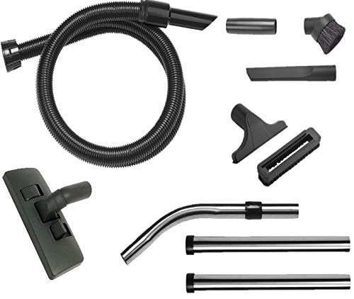 SPARES2GO Complete 1.8m//32mm Hoover Hose Tool Brush Kit for Numatic Henry /&