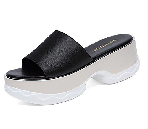 interni da da antiscivolo 37 donna Sandali esterni piatti dimensioni alla ed per da da spiaggia FAFZ spiaggia B moda Colore Pantofole sandali Sandali Pantofole B indossare Pantofole xP6wzccq4I