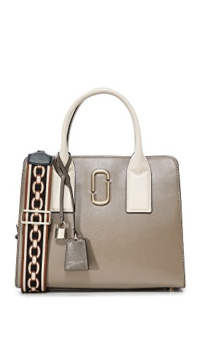 Marc Jacobs Women's Big Shot Satchel, French Grey Multi, One Size by Marc Jacobs
