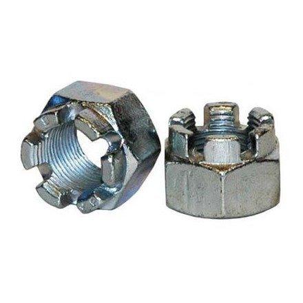 03-14 SUZUKI LTZ400: Dura Blue Axle End Nut Steel (20mm X 1.5mm)
