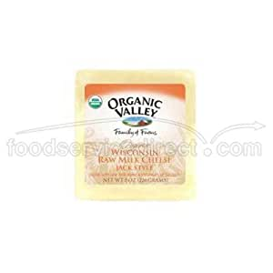 Organic Valley Organic Wisconsin Raw Milk Monterey Jack Cheese 8 Ounce
