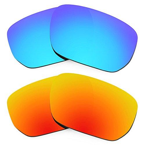 Verres Revant pour monture Oakley Style Switch Polarisés 2 Combo Pack de paires K002