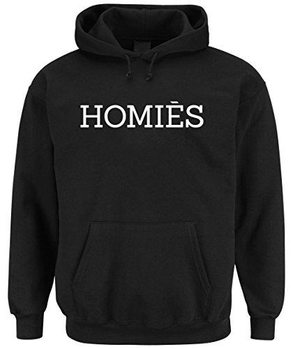 Homies Hoodie Black